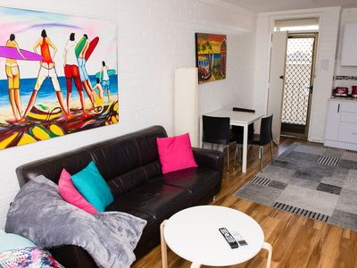 Photo for SLEEPS 3, WALK TO EVERYTHING INCLUDING MARKETS AND ROTTNEST ISLAND FERRY