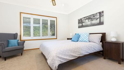 Bedroom with views over Foxground Valley