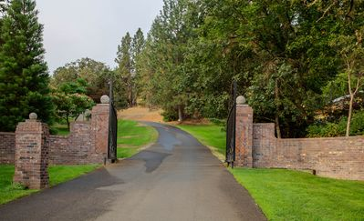 Our gated community welcomes you to a secure trip.