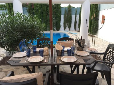 Photo for VILLA with private swimming pool,5 min on foot of the beach, WiFi, 6 persons!