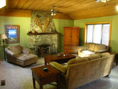 Photo for Top-rated Zephyr Cove Cabin near Skiing/Casinos