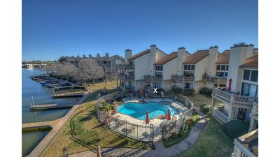Photo for Lakefront, 1st Floor, 2/1 Condo Lake LBJ, Horseshoe Bay