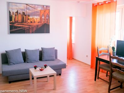 Photo for Fully furnished apartment near Dusseldorf in Moenchengladbach