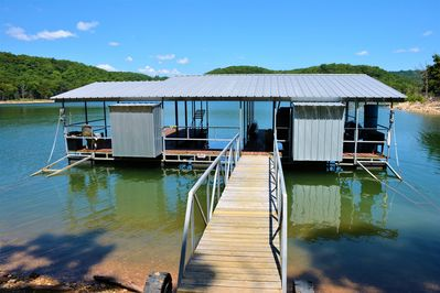 You have access to our large swimdeck & xtra slip if you choose to rent a boat.