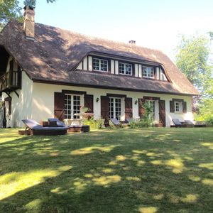 Photo for CHARMING NORMAN HOUSE IN A WOODED PARK, 30 mns FROM THE SEA
