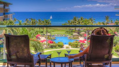 "Photo for 100% OCEAN VIEWS FROM ALL ROOMS, KA""ANAPALI CONDO"