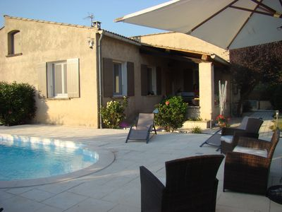 Photo for House 6 to 8 people with swimming pool, facing St Julien 200 m from the city center