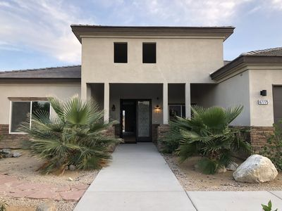 Photo for Brand New 3bd 3br House only 7 mins to downtown Palm Springs. Lic#016210.