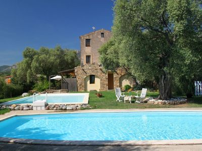 Photo for apartment in the 2nd in a house of character, quiet pool nature, 5min from Calvi
