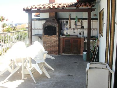 Photo for Penthouse Duplex with 3 bedrooms 100m from Praia do Forte