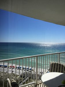 Photo for Relax in a Beachfront Condo-Newly redecorated, Spectacular views