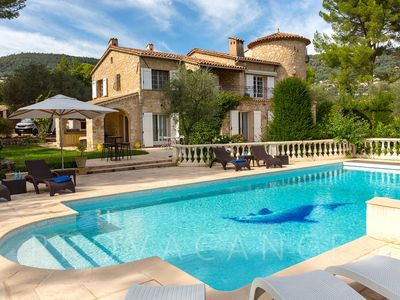 Photo for Peymeinade Villa, Sleeps 10 with Pool and WiFi