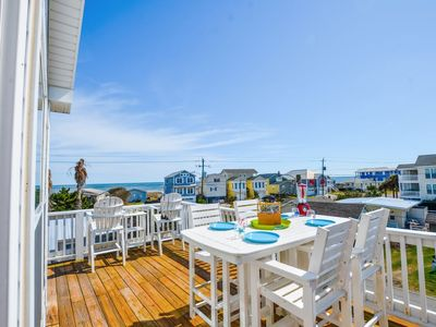 Photo for Let the memories begin at Mermaid Crossing, featuring the best of both Carolina and Kure Beach!