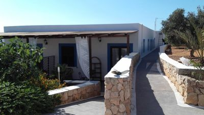 Photo for Relaxing villa Apartment Tre Lampedusa