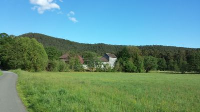 Photo for Apartment on estate with watermill and lots of nature