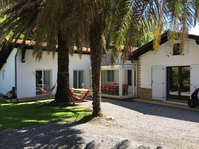 Photo for Modernly renovated holiday home with palm garden in Bidart - approx. 500 m to the beach