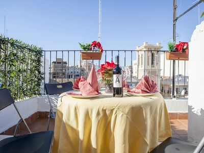 Photo for SPECIAL OFFER - Penthouse Valencia old town center