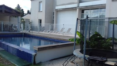 Photo for Beautiful Architect's Villa, located in the Regional Park of Alpilles ...