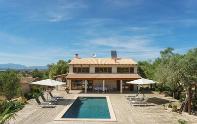 Photo for SUPER VILLA WITH VIEWS TO THE TOWN AND 15KM FROM THE BEACH