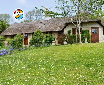 Photo for Beautiful Thatched Cottage, on its' own, in a wooded and peaceful setting.