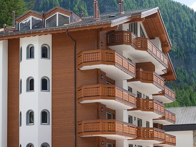Photo for Apartment in the center of Leukerbad with Lift, Parking, Internet, Washing machine (46081)