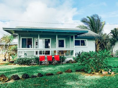 Photo for Oceanfront Kauai  Home with Stunning Views and Perfect Location!