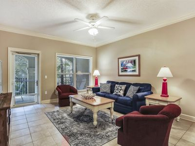 Photo for 2nd floor, 2 bedroom, and 2-bath, North Shore Place villa in Forest Beach!