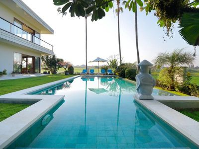 Photo for Stunning 8 BR villas & Rice Fields View in Canggu close to the beach #LK