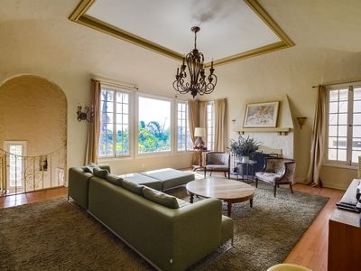 Photo for HUGE Historic Hollywood Hills Townhome! Views, Close2 everything!