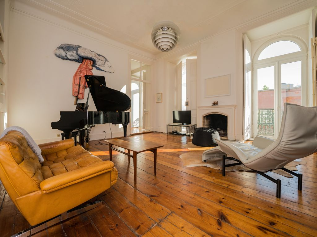 Superb Central Apartment Lisbon River View Grand Piano 147m2 Broadband Net