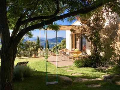 Photo for Bergerie renovated in Provence in an exceptional site with swimming pool