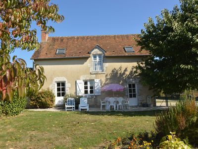 Photo for Holiday house with magnificent panoramic view, close to Chambord's castle.