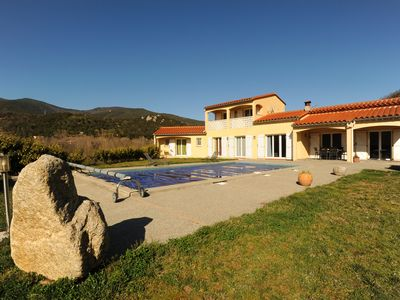 Photo for furnished villa 4 bedrooms 3 bathrooms, private pool ground 4000m