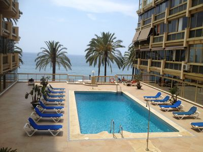 Photo for Luxurious Frontline-Beach Marbella-Town Apartment 100m to Orange Square Old City
