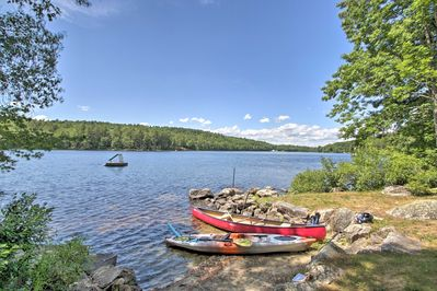 Explore Maine's mountain and lake region for your next getaway!