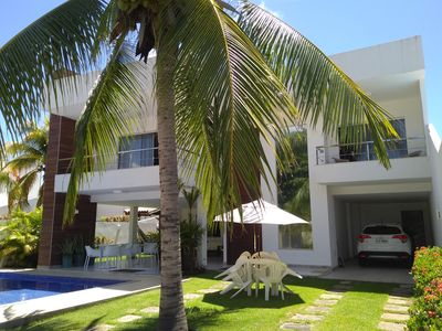 Photo for Excellent home - 05 suites with air conditioning, pool and barbecue