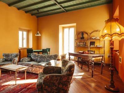 Photo for Delightful Holiday Home in Castelleto Ticino with Jacuzzi
