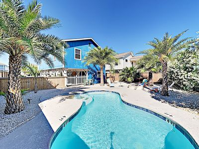 Photo for 3BR w/ Private Pool & Fire Pit - Near Beach