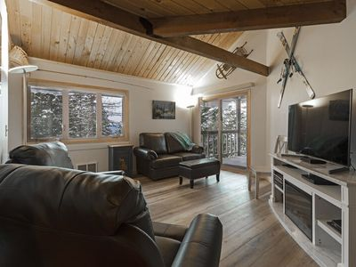 Photo for Immaculately remodeled condo with pool, hot tub and Whitefish Lake beach access!!
