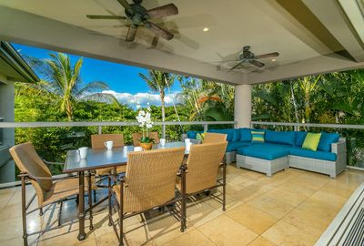 Enjoy Outdoor Dining on the Upper Lanai