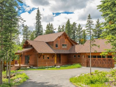 Photo for NEW LISTING! Spacious upscale ski in/out family home w/hot tub & views!