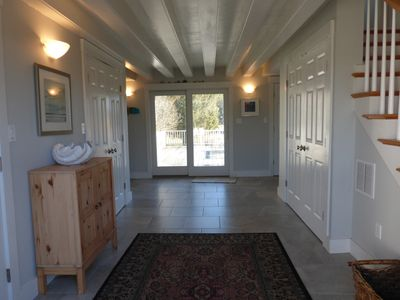 Photo for Three minute walk to the water. 5 bedrooms, 3.5 baths. AIR CONDITIONING
