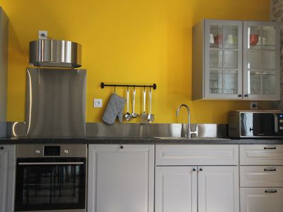 Photo for The Logis GOUT 4 stars, very nice apartment, 3 bedrooms, garden, near center