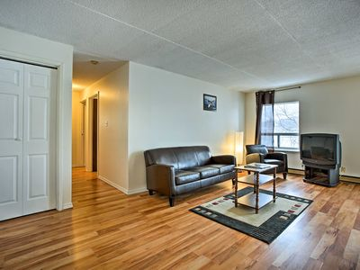 Photo for NEW! Lakefront Apartment in Blind River w/ Balcony
