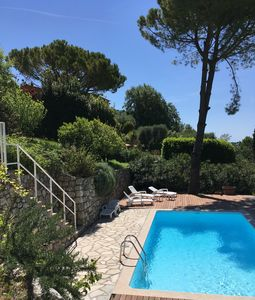 Photo for Large villa, large garden in Mougins / Cannes, Pool / salt, WIFI, 8 Pers.