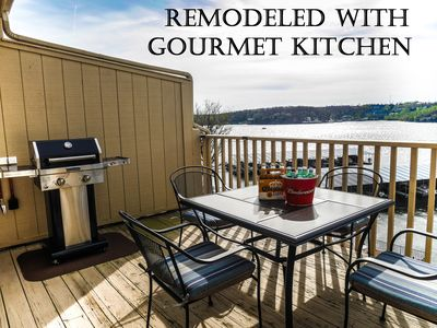 Photo for Remodeled Penthouse Open Patio, Best Osage Beach Location, 30x10 Boat Slip Free!