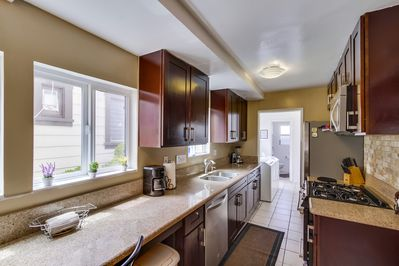 Kitchen stocked with everything needed to prepare all your favorite Meals
