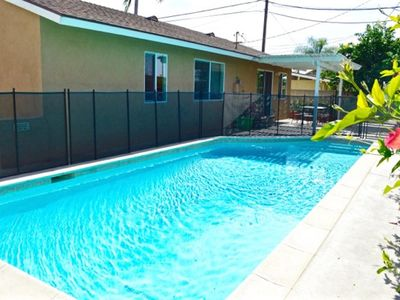 Pool - Private heated pool with child safety fence!
