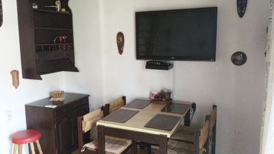 Photo for Apartment for 5 people with air-conditioner & free WIFI next to the free beach