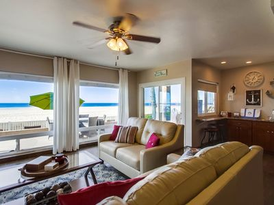 Photo for 🏖 OCEANFRONT | GROUND FLR 🌅 Unmatched Panoramic Ocean Views, Sunset City!